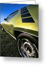 1971 Plymouth Gtx Greeting Card