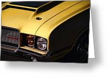 1972 Oldsmobile Cutlass 442 Greeting Card