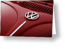 1973 Volkswagen Beetle Greeting Card