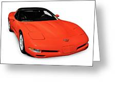 1997 Chevrolet Corvette C5 Coupe Greeting Card