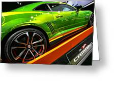 2012 Chevy Camaro Hot Wheels Concept Greeting Card
