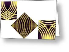 3 Square Greeting Card