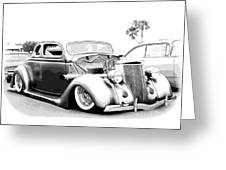 36 Ford  Greeting Card