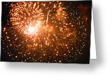 4th Of July Fireworks In Dc  Greeting Card