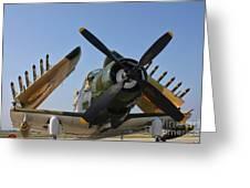 A-1d Skyraider Greeting Card
