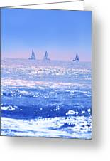 A Good Day For Sailing Greeting Card