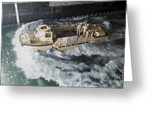 A Lighter Amphibious Re-supply Cargo Greeting Card
