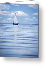 A Sailboat Greeting Card