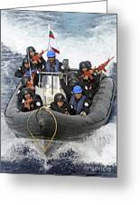 A Visit, Board, Search And Seizure Team Greeting Card