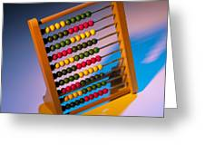 Abacus Greeting Card