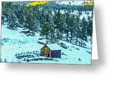 Abandoned Barn Lll Greeting Card