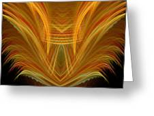 Abstract 107 Greeting Card