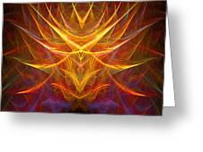 Abstract 109 Greeting Card