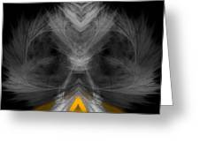 Abstract 157 Greeting Card