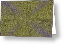 Abstract 3d Art Greeting Card
