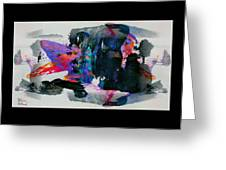 Abstract 4 Greeting Card