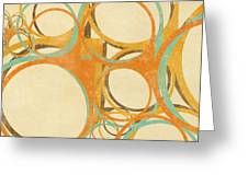 Abstract Circle Greeting Card