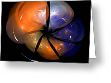 Abstract Eighty-eight Greeting Card