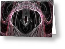 Abstract Eighty-five Greeting Card