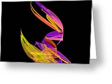 Abstract Fifty-four Greeting Card