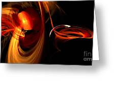 Abstract Four Greeting Card