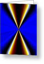 Abstract Fusion 60 Greeting Card