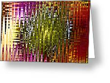 Abstract Iv Greeting Card