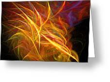 Abstract Ninety-nine Greeting Card