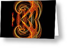 Abstract Ninety-one Greeting Card
