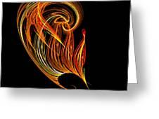 Abstract Ninety-three Greeting Card