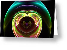 Abstract Seventy-one Greeting Card