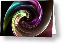 Abstract Seventy-three Greeting Card