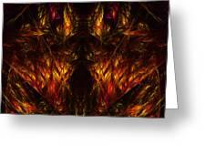 Abstract Thirty-nine Greeting Card