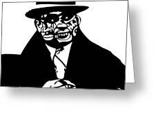 Al Capone Greeting Card