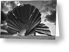 Aldeburgh Scallop Greeting Card