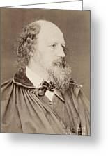 Alfred Tennyson Greeting Card