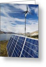Alternative Energy Sources Greeting Card