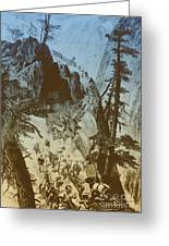 American Gold Rush Greeting Card