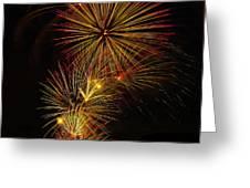 American Pinwheel Greeting Card by Joshua Dwyer