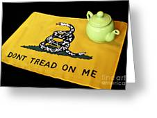 American Tea Party Greeting Card