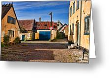 An Alley In Dragoer Greeting Card