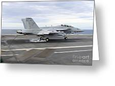 An Ea-18g Growler Makes An Arrested Greeting Card