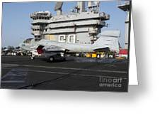 An Ea-6b Prowler Makes An Arrested Greeting Card