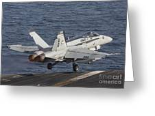 An Fa-18c Hornet Taking Greeting Card