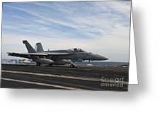 An Fa-18f Super Hornet Takes Greeting Card