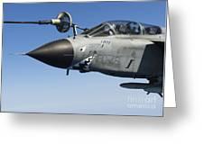 An Italian Air Force Tornado Ids Greeting Card by Gert Kromhout