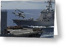An Mh-60s Knighthawk Helicopter Greeting Card