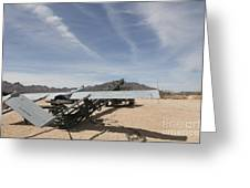 An Rq-7 Shadow Unmanned Aerial Vehicle Greeting Card