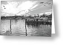 Anchor Inn Cove Greeting Card