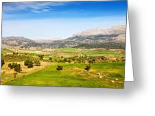 Andalusia Landscape In Spain Greeting Card